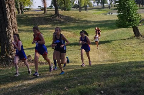 Girls Cross Country continues improvement