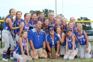 Junior Lady Rocket Softball places second in State Tournament
