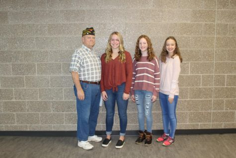 VFW sponsors Patriot's Pen contest
