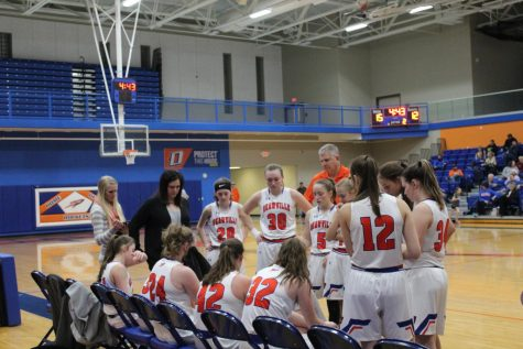 Lady Rocket Basketball Fights for every Win