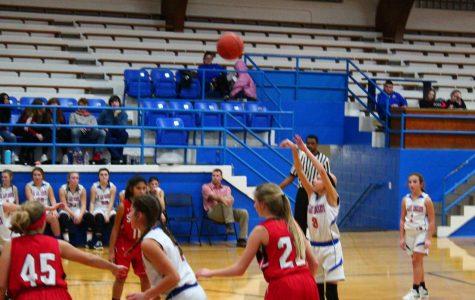 Junior Lady Rocket Basketball season winding down