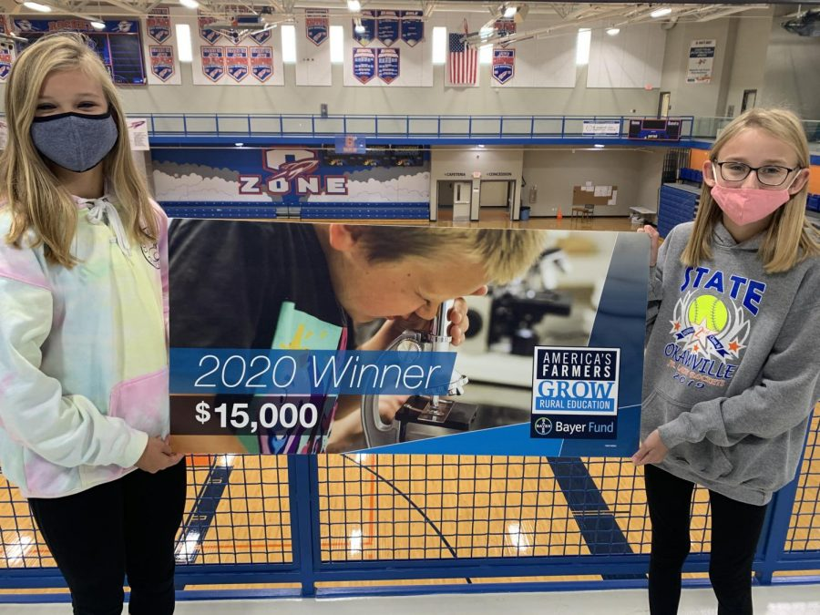 OJSHS receives technology funding grant