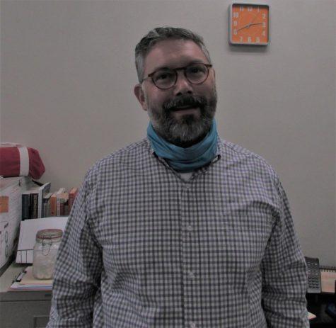 Mr. Kenow, new business teacher at OHS