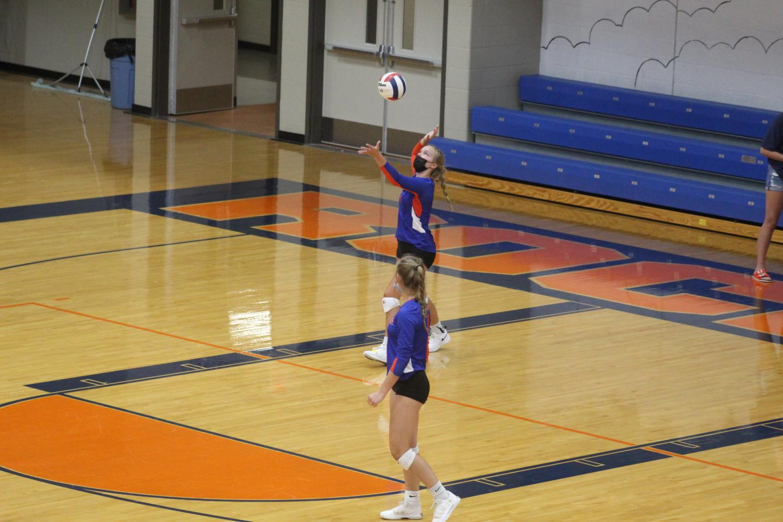 Start of Volleyball