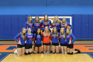 Lady Rocket Volleyball is on a Roll