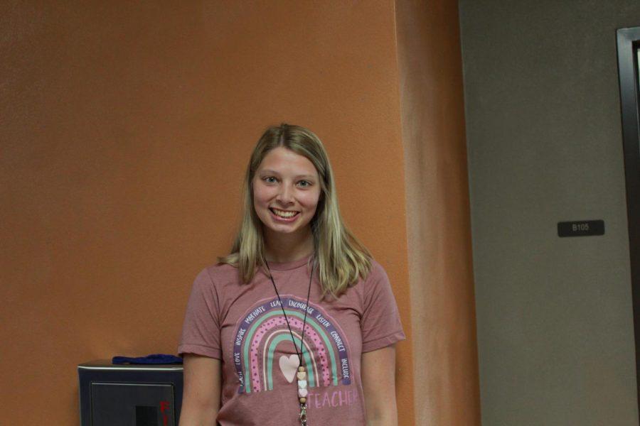 Ms. Haley Markus, new kindergarten teacher
