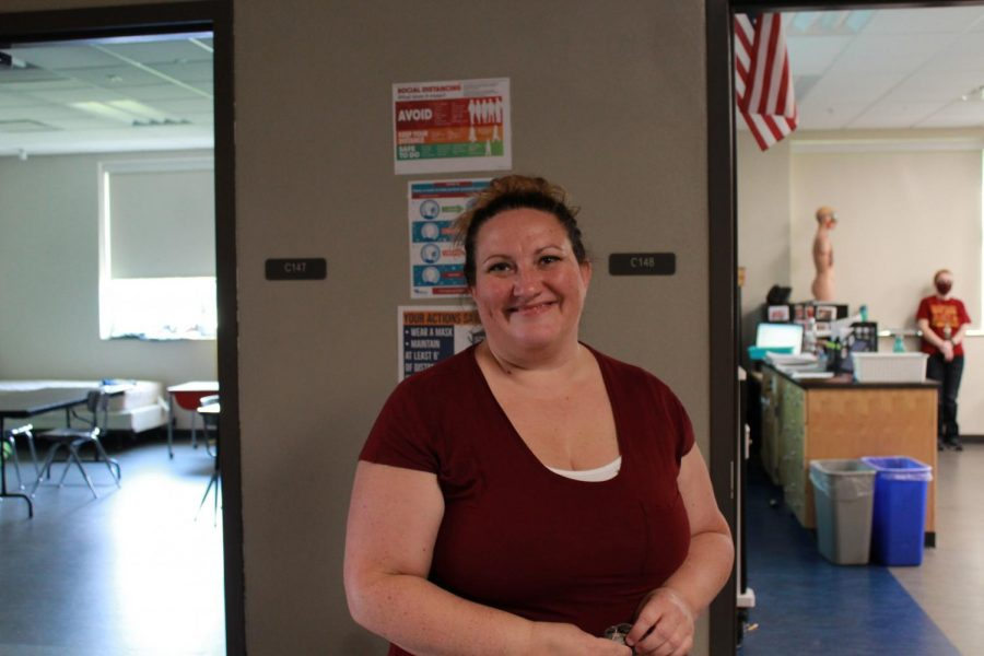 Mrs. Cori Kremmer, new junior high teacher