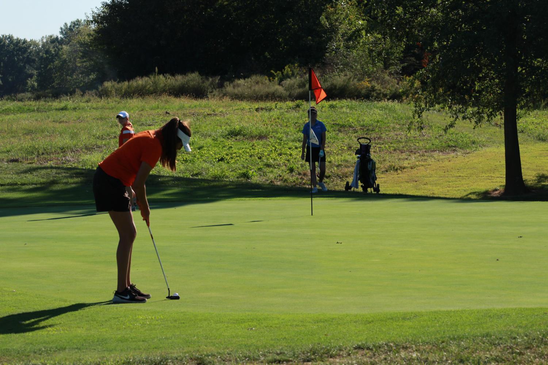 Lady Rocket Golfers Finish Season, Killion Advances To Sectionals